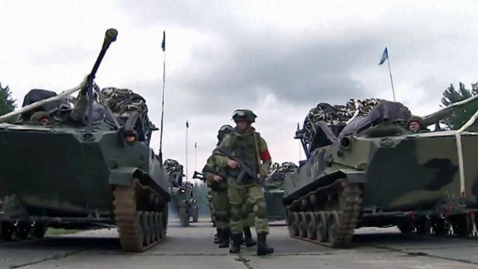 """Provokation an NATO-Grenze: Russland und Weißrussland starten Militärmanöver """"Sapad 2017"""""""