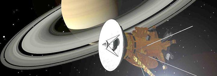 """Die Herrin der Ringe: Saturnsonde """"Cassini"""" beendet ihre Mission"""