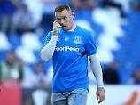 """""""Es ist toll, wieder da zu sein"""": Wayne Rooney."""