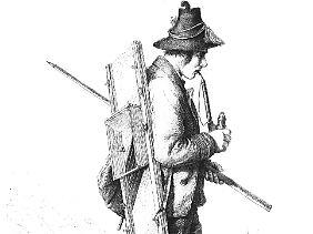 """Fast ein Drittel der Talbewohner verdingte sich im Ausland, schrieb 1864 """"Die Gartenlaube"""" über die Montafoner."""