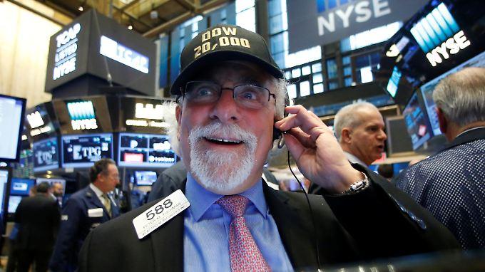 Krisenstimmung an der Wall Street? - Eher nicht.