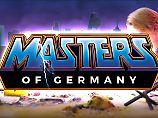 """Wie bei """"Masters of Universe"""": """"Echsen-Merkel"""" setzt auf Rauten-Power"""