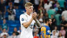 Der Sport-Tag: Toni Kroos fällt verletzt aus