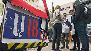 Kinder an die Urne: Bei der U18-Wahl dürfen die Jungen den Kanzler bestimmen