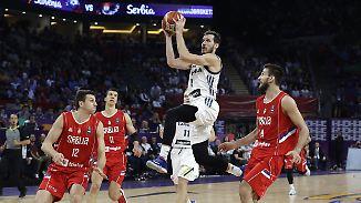 Starke Vorstellung gegen Serbien: Dragic führt Sloweniens Basketballer zum ersten EM-Titel