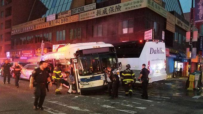 Der Unfall ereignete sich im Morgenverkehr.