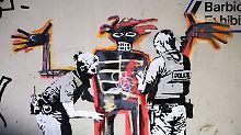 Neue Werke in London: Banksy ehrt toten Kollegen