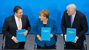 """""""Große Koalition nimmt sich Großes vor"""": Bilanz der Großen Koalition fällt durchwachsen aus"""