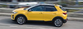 Der Kia Stonic tritt unter anderem gegen Seat Arona, Opel Crossland X oder den VW T-Roc an.