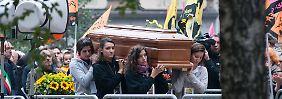 Lea Garofalo gehört zu den Frauen, die die Abkehr von der Mafia nicht überlebten.