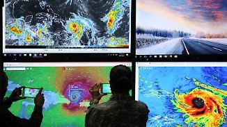 """Hurrikan weiter extrem gefährlich: """"Maria"""" richtet schwere Verwüstungen in der Karibik an"""