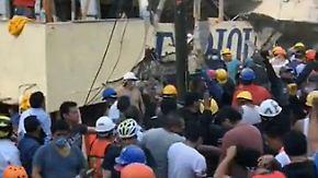 Verschüttete Schule in Mexiko-Stadt: 38 Personen liegen noch immer unter den Trümmern
