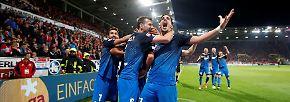 Mark Uth wurde ganz spät zum Hoffenheimer Helden in Mainz, er krönte in der Nachspielzeit das Comeback der Nagelsmänner nach 0:2-Rückstand mit dem Siegtreffer.