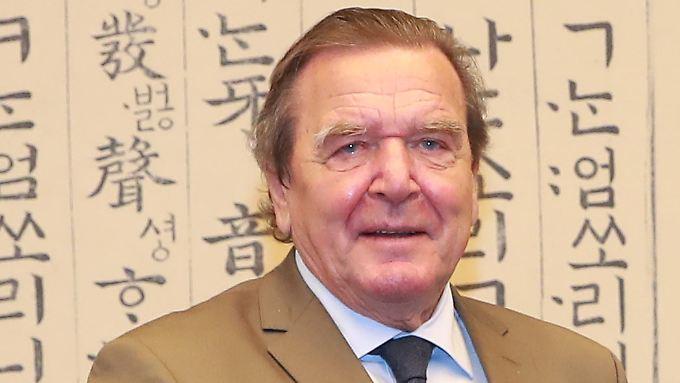 Schröder bereiste erst Anfang September Südkorea.