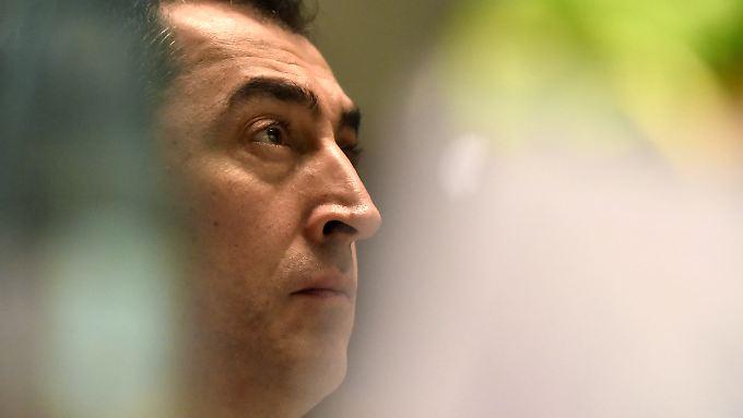 """Özdemir sagt: """"Das Amt kommt zum Mann beziehungsweise zur Frau, nicht anders herum."""""""