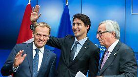 """""""Nicht der Goldstandard, wie versprochen"""": Handelsabkommen Ceta tritt vorläufig in Kraft"""