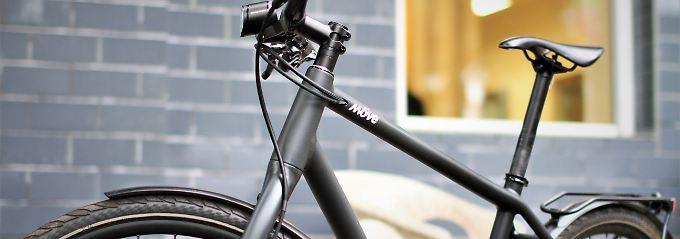 Wie E-Bike, nur besser?: Möve Franklin fährt leicht und schnell