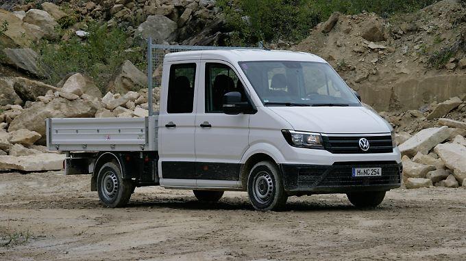 VW baut den Crafter mittlerweile ohne Daimler-Hilfe und scheint damit ganz gut zu fahren.