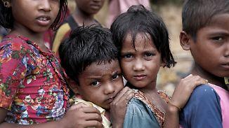 """""""Kinder weinen vor Hunger"""": Situation der Rohingya wird immer dramatischer"""