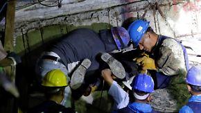 Einzelne Hoffnungsschimmer: Mexikaner suchen fieberhaft nach Überlebenden in den Trümmern