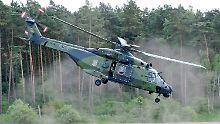 Bundeswehreinsatz in Mali: Hubschrauber landet mit Triebwerkproblemen