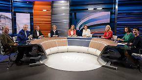 Letzte TV-Runde vor der Entscheidung: Sieben Kandidaten liefern sich hitzige Wahlkampfschlacht