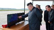 """""""Raketenmann"""" gegen """"dementen US-Greis"""": Kim und Trump drehen die atomare Eskalationsspirale"""