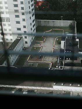 Aussicht aus einem der Zimmer.