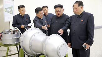 Das war der Morgen bei n-tv: Kim droht mit Wasserstoffbomben-Test im Pazifik