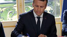 Macrons umstrittene Neuerung: Paris beschließt Arbeitsmarktreform