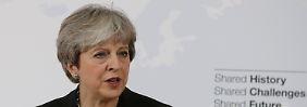 """""""Kreative Lösungen"""": May will Übergangsphase nach Brexit"""