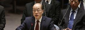 Umsetzung der UN-Sanktionen: China drosselt Öl-Lieferungen an Nordkorea
