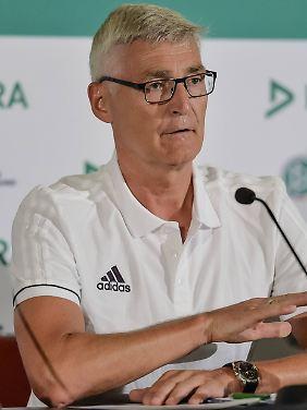 Lutz-Michael Fröhlich ist der Chef der deutschen Schiedsrichter.