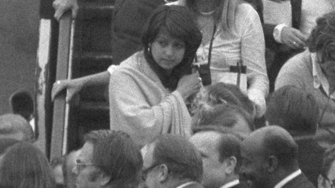 Diana Müll bei ihrer Rückkehr nach Deutschland.