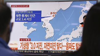 Weiterer Bombentest?: Erdbeben erschüttert Nordkorea