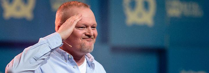 """Stefan Raab bei """"Bits &Pretzels"""": """"Machen Sie nur das, was Sie selber auch gut finden"""""""