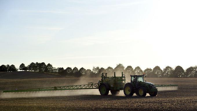Einige Bauern in Frankreich fürchten, dass ihnen ein Glyphosat-Verbot wirtschaftlich schaden könnte.