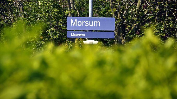 Morsum, das die Überraschung für die Archäologen bereithielt, liegt im Osten von Sylt.