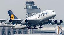 Ungeliebter A380: Airbus könnte Produktion herunterschrauben