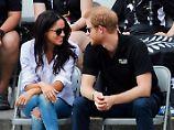 Der Tag: Prinz Harry turtelt mit seiner Meghan