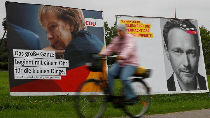 Dass Merkel und Lindner zusammenfinden könnten, erscheint relativ sicher, nur was ist mit CSU und Grünen?