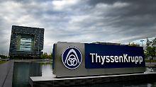Cevian beharrt auf Zerschlagung: Großaktionär erhöht Druck auf Thyssenkrupp
