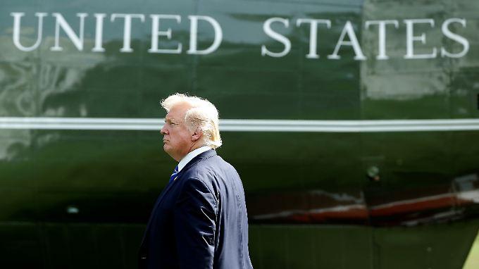 Donald Trump wirft Nordkoreas Machthaber eine Eskalation der Lage vor.