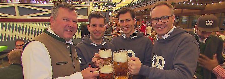 """Bier lockert die Zungen: """"Bits & Pretzels"""" bringt Gründerstars auf Wiesn zusammen"""