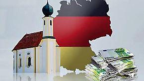 USA und Schweiz Spitze: Deutschland bleibt im Vermögensvergleich abgeschlagen
