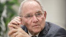 FDP schielt auf Finanzressort: Schäuble soll Bundestagspräsident werden