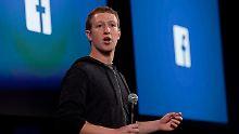 Einfluss auf Facebook: Zuckerberg wehrt sich gegen Trump