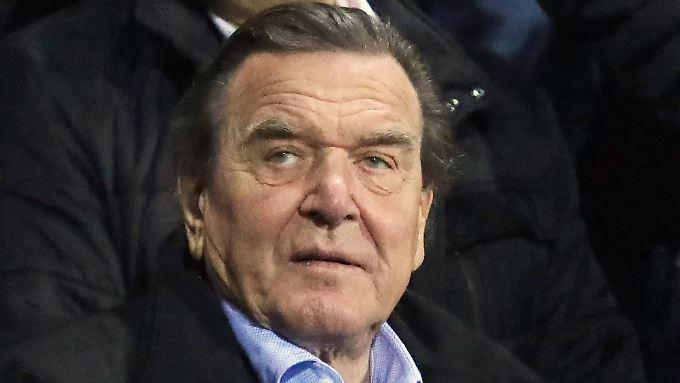 Gerhard Schröder arbeitet schon seit 2005 für die Gazprom-Tochter Nord Stream.