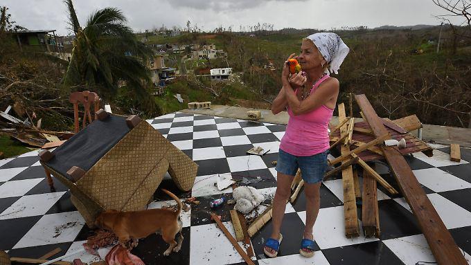 Viele Menschen auf Puerto Rico stehen vor dem Nichts und sind auf Hilfsgüter angewiesen.