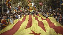 Unterstützung von Barca-Profi: Studenten demonstrieren für Referendum